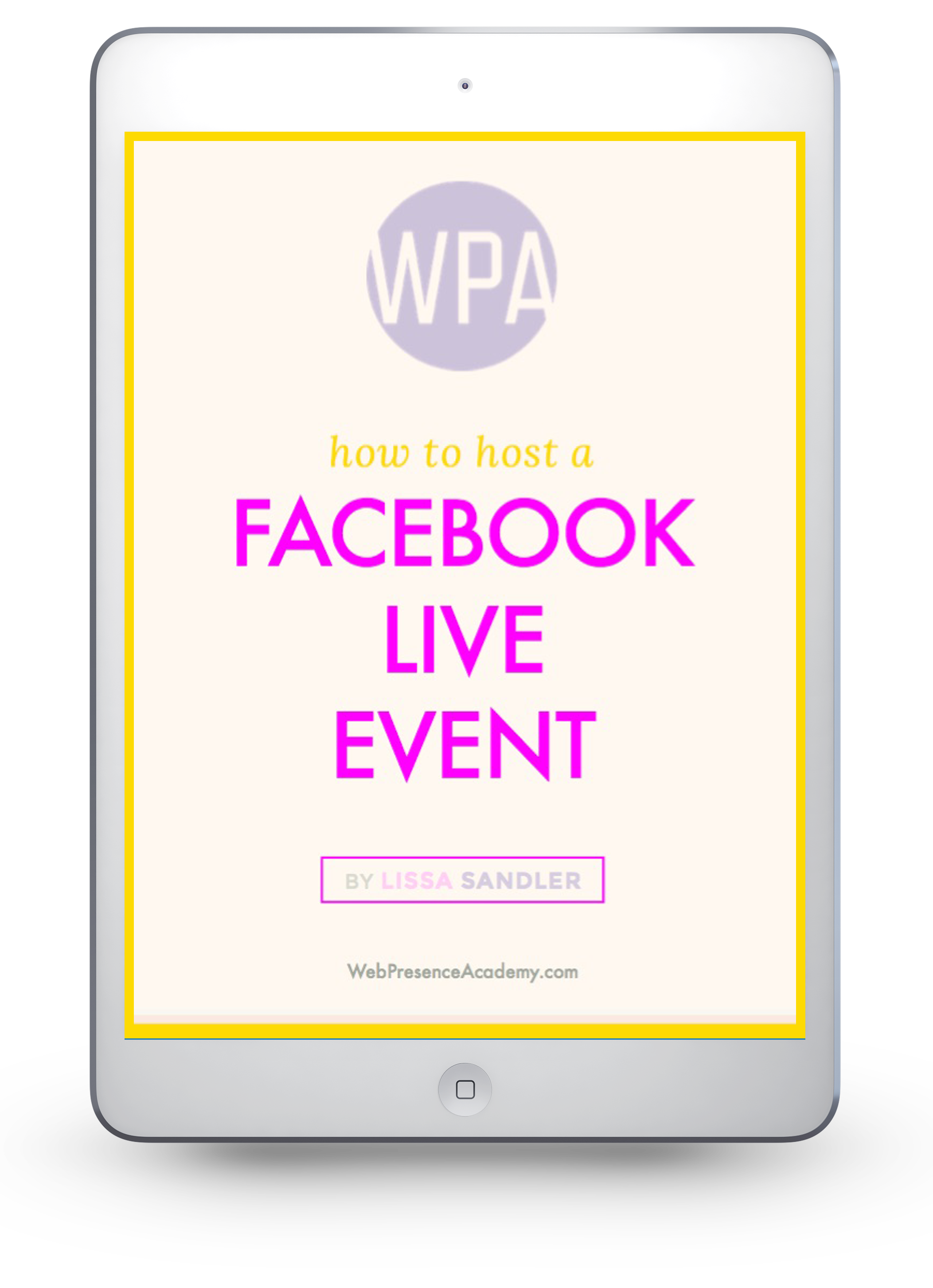 How to Host a Facebook Live Event